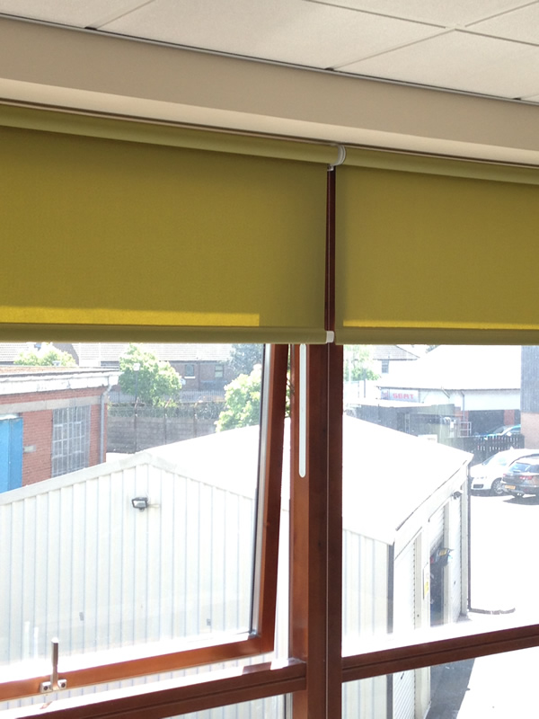 Office Roller With Side Guides 2 Murphys Blinds